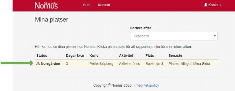 Statusrapport_Nomus_steg_2