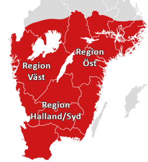 Nomus Områden 2020